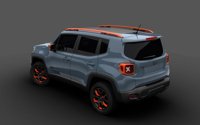 Detroit 2015 : Jeep exposera deux Renegade Off-Road Mopar