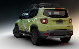 Detroit 2015 : Jeep exposera deux Renegade Off-Road Mopar