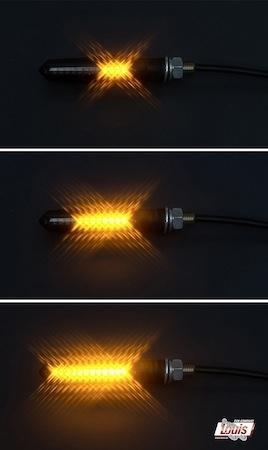 Louis-Moto: des clignots à LEDs progressives