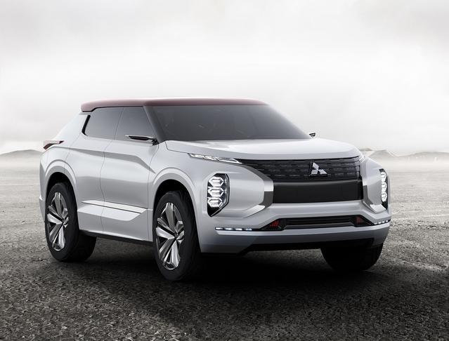 Mondial de Paris 2016 - Mitsubishi GT-PHEV Concept: avant-goût du prochain Outlander