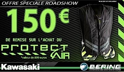 Bering et Kawasaki: l'airbag sera imposé sur les machines du Kawasaki Tour 2015