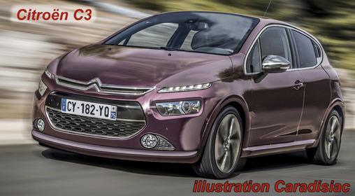 Calendrier des nouveautés 2015 - Citadines : les nouvelles Citroën C3, Mazda 2, Honda Jazz, Opel Karl arrivent