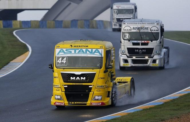 Compétition Camions : MAN champion de France et d'Europe
