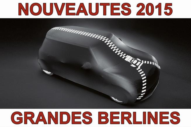 Calendrier des nouveautés 2015 - Grandes berlines : l'hybride gagne du terrain, Renault et Skoda proposent leur nouveau fer de lance…