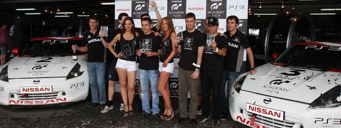 Nissan GT Academy 2012 : les six vainqueurs de la finale française