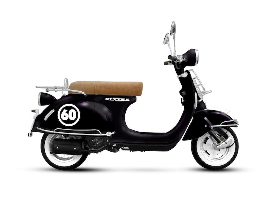 Nouveauté scooter 2015 : Vastro Sixtys 50/125