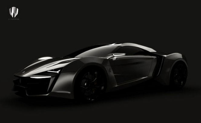 Future W Motors: une supercar au Moyen-Orient