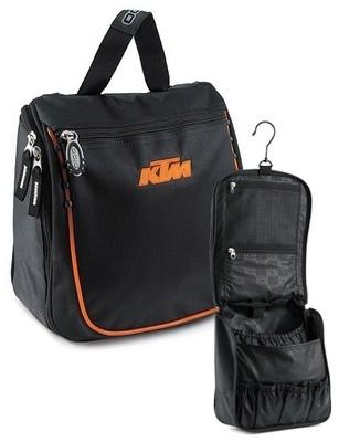 KTM dès le matin avec le Toppler Toilet Bag.