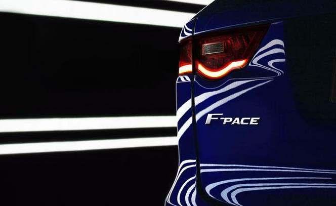 Jaguar tease le F-Pace, le SUV de série préfiguré par le concept CX-17