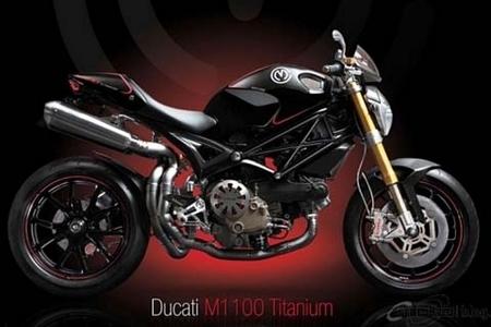 Ducati Monster 1100 Titanium by Moto Corse : Slim and Fast
