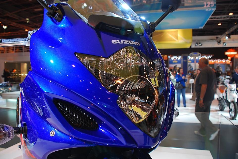 Salon de la Moto 2007 en direct : Suzuki GSXF 650