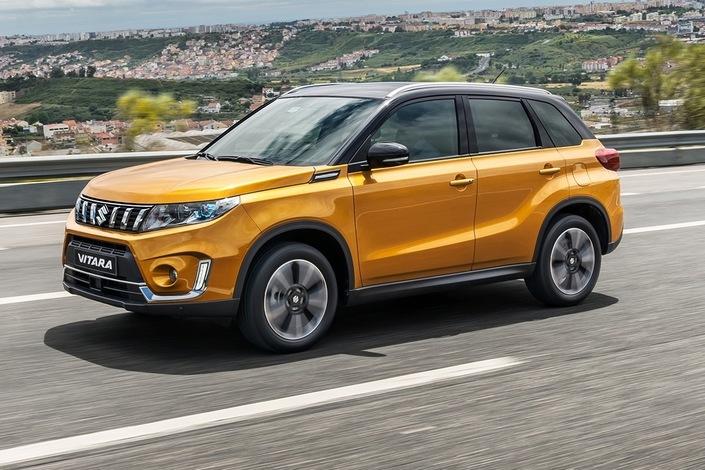 Mondial de Paris 2018 - Suzuki Vitara: petit coup de jeune