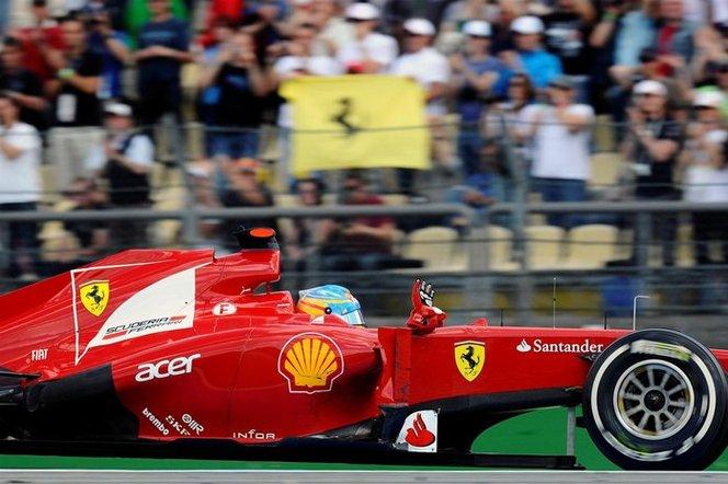F1 GP d'Allemagne : Fernando Alonso s'affirme