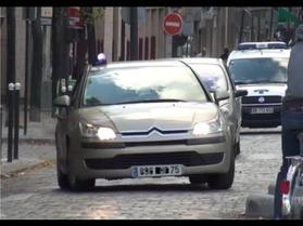 Paris: quand les policiers multiplient les infractions routières