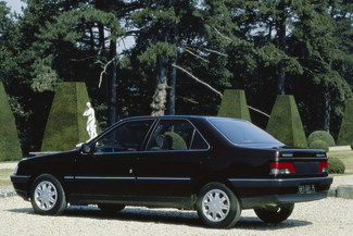 1988 - Peugeot 405, 27 700 €sans ABS, régulateur de vitesse ou ESP.