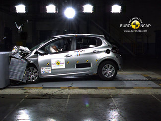 2012: la Peugeot 208 récoltela note maximale au crash-test