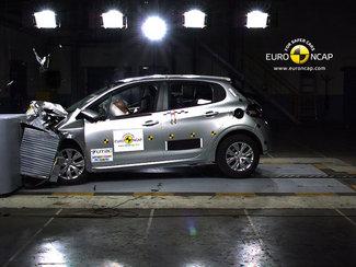 2012: la Peugeot 208 récoltela note maximale au crash-test
