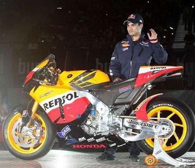 Moto GP - Honda: Le HRC s'est présenté à Madrid avec Pedrosa