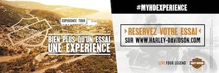 Harley-Davidson Experience Tour 2017: 28 villes à travers la France