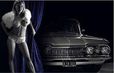 Calendrier 2008 Liqui Moly : pour la tous seins