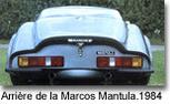 Marcos et Morgan   Construites par des maîtres carrossiers