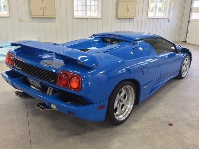 Insolite : l'ex-Lamborghini Diablo VT Roadster de Donald Trump à vendre