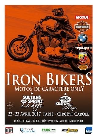 Iron Bikers: c'est show en 2017