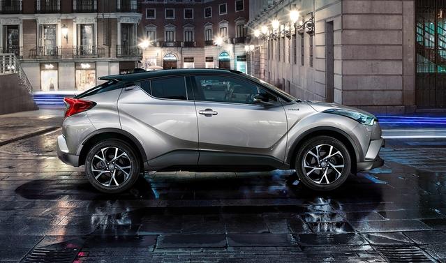 Mondial de Paris 2016 - Toyota C-HR: à partir de 22900€