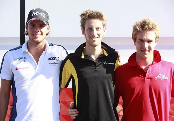GP2 Valence Course 1 : la victoire a choisi Grosjean