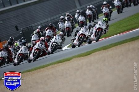Honda CBR500R Cup: 7 dates en 2017