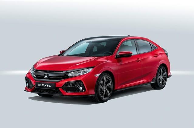 Mondial de Paris 2016 - Honda dévoile la nouvelle Civic européenne