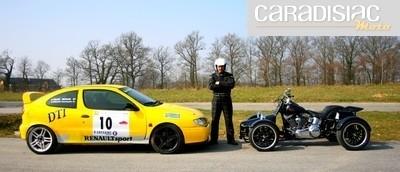 Q Tek: quad Q4 Harley Davidson: trois avis valent mieux qu'un…