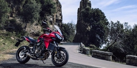 Yamaha vous offre 400 euros d'accessoires sur la Tracer 700