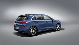 C'est de 3/4 arrière que l'i30 évoque le plus les productions allemandes.