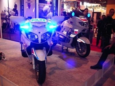 Salon de la moto 2007 : Les Forces de l'ordre