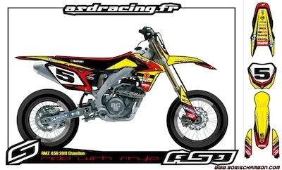 Boris Chambon nous présente sa moto pour 2011.