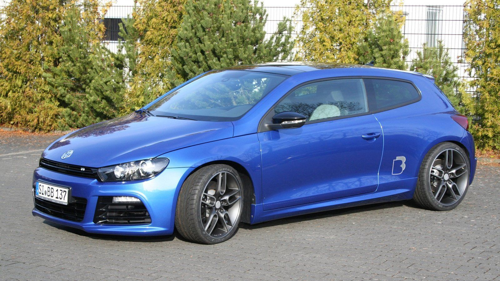 Volkswagen Gti Vr6 Specs >> B&B fait rentrer 362 chevaux sous le capot du Volkswagen Scirocco R