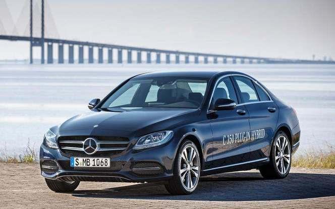 Detroit 2015 : Mercedes lève le voile sur la Classe C350 Plug-in Hybrid