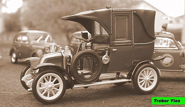 miniature 1 43 me renault ag 1 taxi de la marne. Black Bedroom Furniture Sets. Home Design Ideas