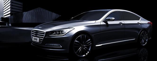 Nouvelle Hyundai Genesis : après la fuite, le teasing