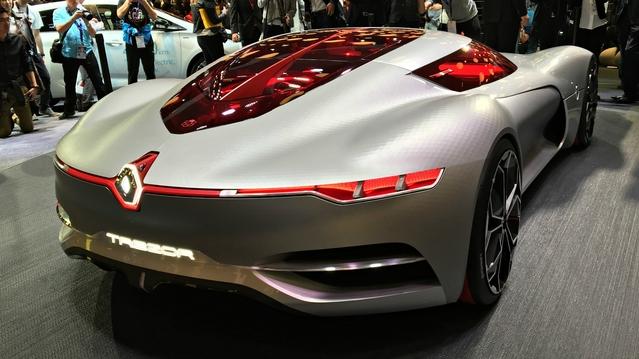 Renault TreZor Concept : le futur du Losange - Vidéo en direct du Mondial de Paris 2016
