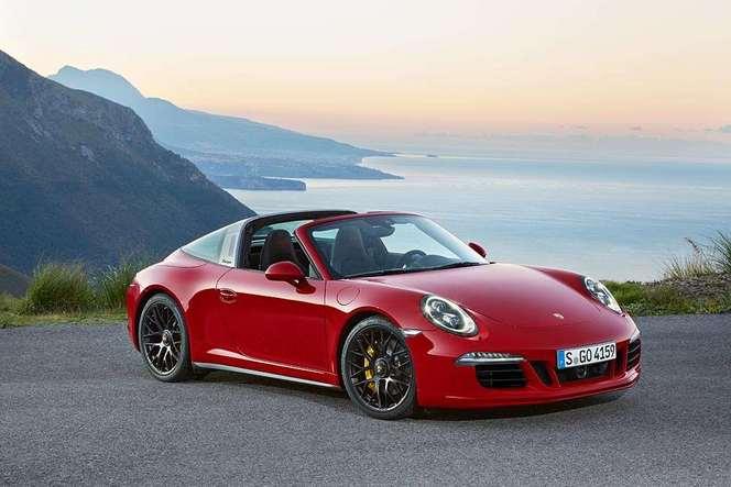 Detroit 2015 : voici l'éclectique Porsche 911 Targa 4 GTS