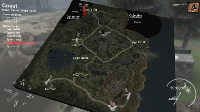 La carte prendrait 10 secondes à parcourir dans Forza Horizon, ici une traversée peut durer plus d'une demi-heure !