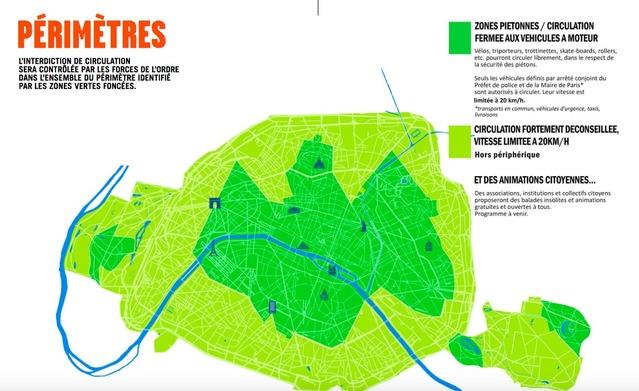 Dimanche, c'est la Journée sans voiture à Paris + les réactions des automobilistes parisiens (vidéo)