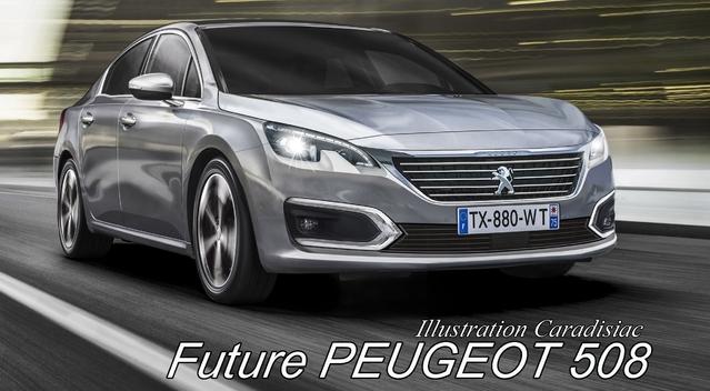 La nouvelle Peugeot 508 arrivera en 2018