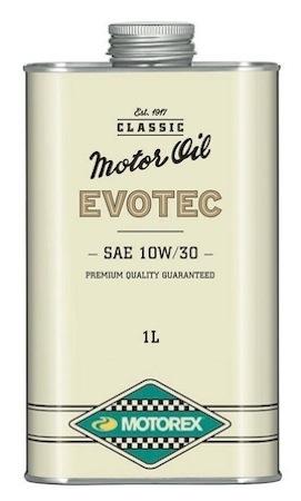 Motorex huile Evotec: pour véhicules classiques