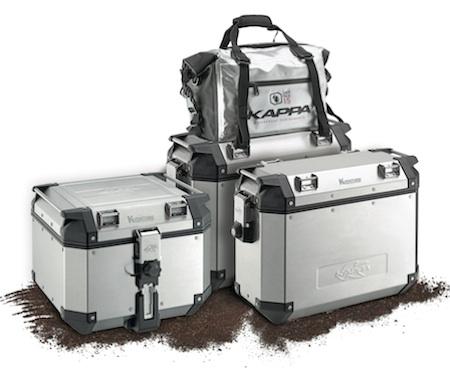 Kappa: bagagerie en aluminium pour les maxi-trails