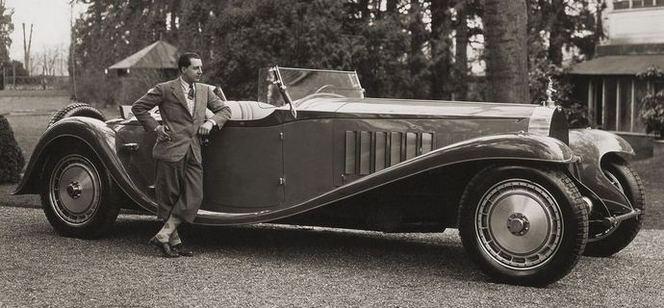 Rétromobile 2015 : trois Bugatti Royale de la partie