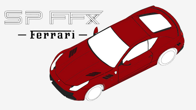 La Ferrari SP FFX n'est probablement pas la future California