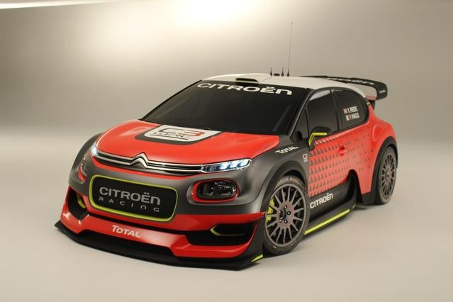 Mondial de Paris 2016 - Citroën C3 WRC concept : ébouriffant [vidéo]